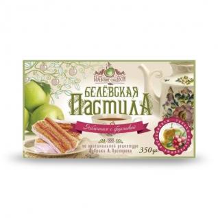 Пастила Белёвская с брусникой, 350 г, коробка-822543