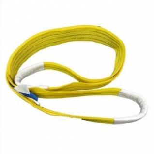 Строп текстильный СТП грузоподъемность 3т, длина 3м, ширина 90мм, желтый-8167190