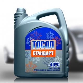 Тосол Промпэк Тосол А-40М Стандарт, 5кг-5921473
