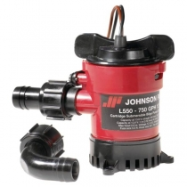 Johnson Pump Помпа трюмная погружная Johnson Pump Cartridge Bilge L450 32-1450-01 12 В 40 л/мин 19 мм со штуцерами Dura-Port