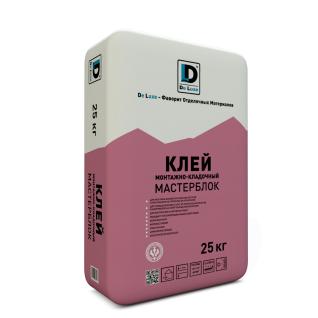 """Клей монтажный """"Мастерблок"""" De Luxe 25 кг-6433223"""