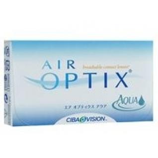 AIR OPTIX Aqua. Оптич.сила - 6,5. Радиус 8,6