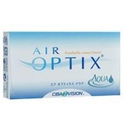 AIR OPTIX Aqua. Оптич.сила - 6,5. Радиус 8,6-4058192