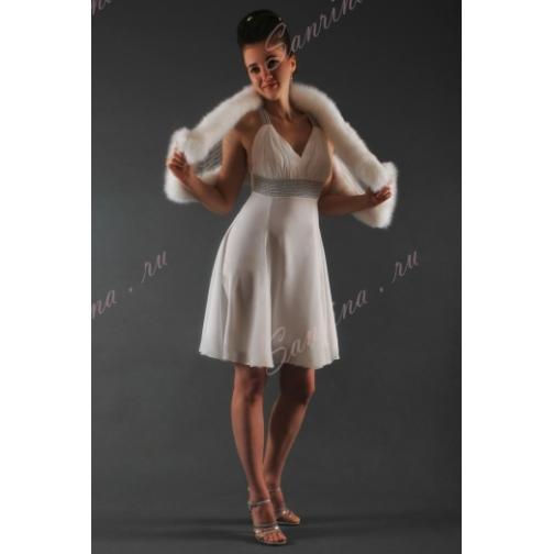 Платье свадебное Короткие свадебные платья⇨Тина-661963