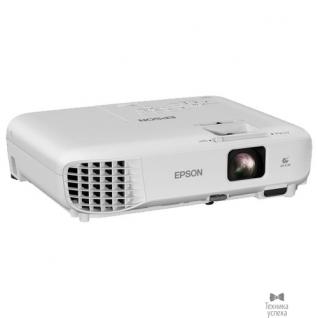 Epson Epson EB-W05 V11H840040 LCD, 16:9, 1280x800, 3300 ANSI, 15000:1, HDMI, USB, 1x2W, 2.5kg, White-9142278