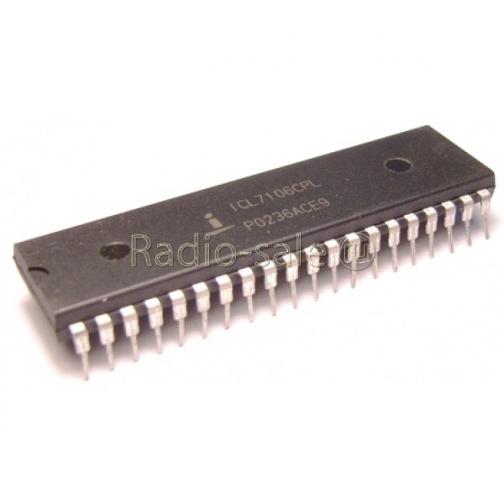Микросхема ICL7106CPL (К572ПВ5)-6853802