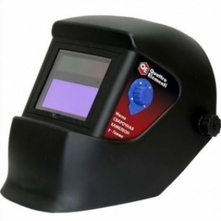Маска сварщика стекло 92х42 Quattro Elementi Хамелион Gamma с наголовным креплением, с регулировкой затемнения DIN 9-13-8168937