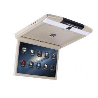 """Автомобильный потолочный монитор Full HD 17,3"""" ERGO ER17AND на ANDROID (бежевый)-37383322"""