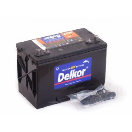 Аккумулятор лодочный DELKOR DELKOR MARINE M27MF (80L) 570А прямая полярность 80 А/ч (306x173x225)-5789445