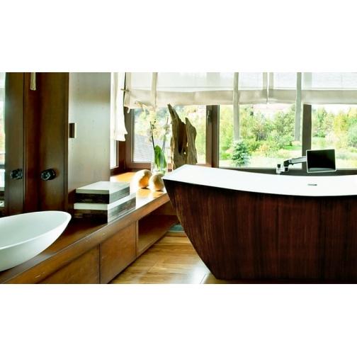 Отдельно стоящая ванна LAGARD Issa Brown wood 6944862 1