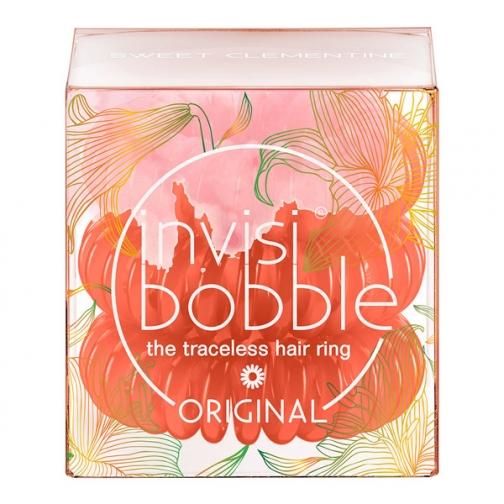 Invisibobble Резинка-браслет для волос Invisibobble ORIGINAL Sweet Clementine 3 шт., цвет: coral-5286200