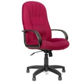 Кресло для руководителя CHAIRMAN CH-685 (ткань TW) бордовый-9268760