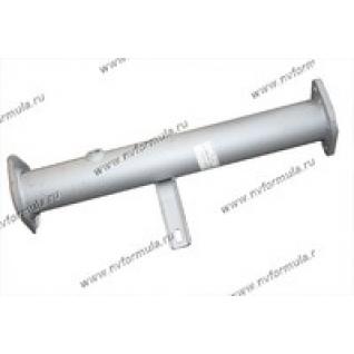 Труба промежуточная Газель Соболь дв.ЗМЗ-405 УМЗ-4216 ФОБОС вместо катализатора под 1 датчик-427066