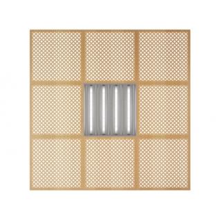 Потолочная плита Presko Лотос 59.5х59.5