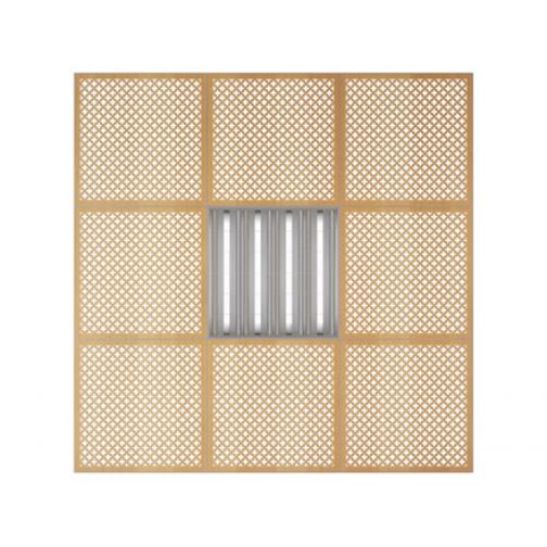Потолочная плита Presko Лотос 59.5х59.5-6768505