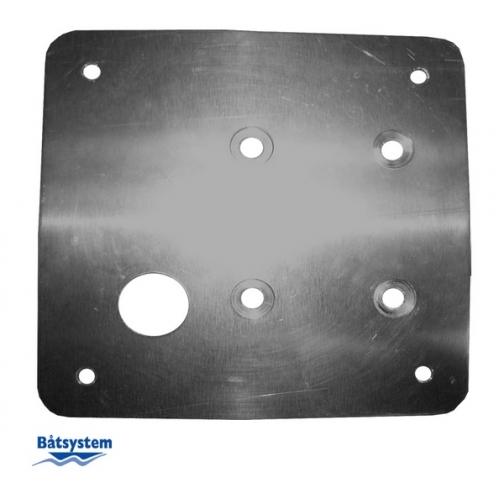 Batsystem Алюминиевая пластина для установки привода якорной лебедки Batsystem 1418 225 x 225 мм-6843156
