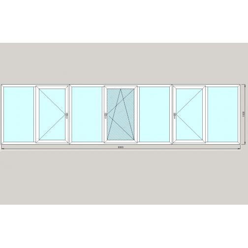 TEPLOWIN Балкон 6 метров Darrio-1292466
