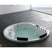 Акриловая ванна Gemy с гидромассажем (G9053 K)