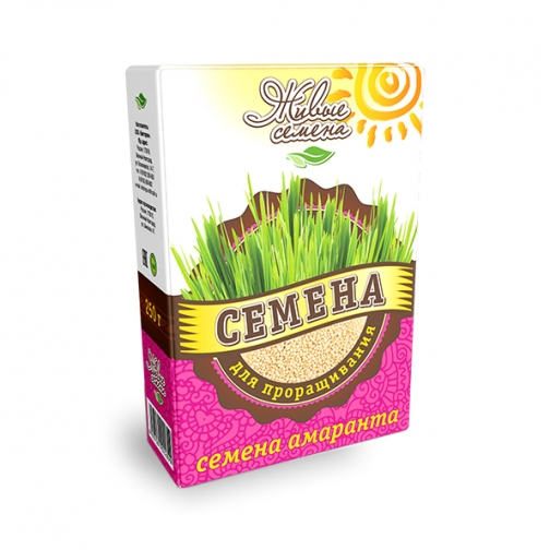 Семена амаранта для проращивания, 250 г, коробка-822554