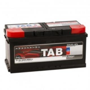 Автомобильный аккумулятор TAB TAB MAGIC 100R (низкий) 900А обратная полярность 100 А/ч (353x175x175)