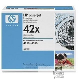 Hp HP Q5942XD Картридж, Black LaserJet 4250/4350, (2x10000 стр.)
