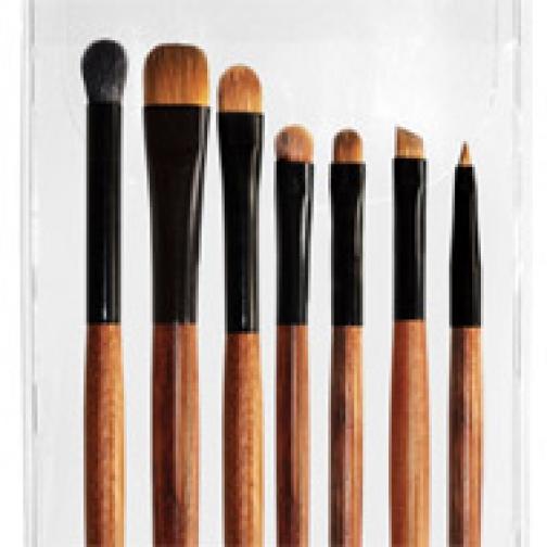 Профессиональные кисти для макияжа - Набор JEANS из 7 кистей для макияжа глаз 7-02-2147859