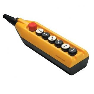 Пульт управления PV7E30B22A20 Пост управления кранами, кран-балкой, тельефами c ключ-маркой(0-I) семикнопочный EMAS-899582