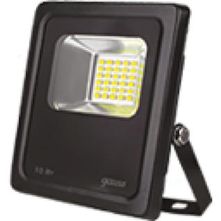 Gauss Прожектор светодиодный Gauss LED 10W IP65 6500К черный 1/24