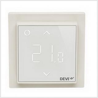 Терморегулятор Devi, DEVIreg Smart интеллектуальный с Wi-Fi, белый, 16 А