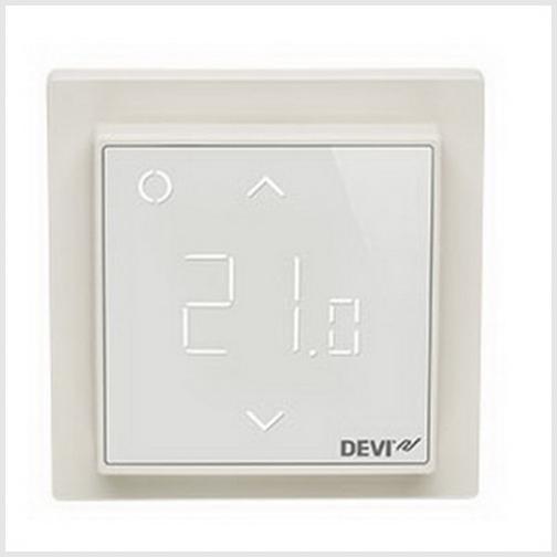 Терморегулятор Devi Devireg Smart интеллектуальный с Wi-Fi, 16 А (белый)-6679681