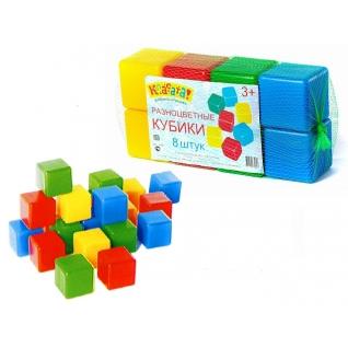 Набор разноцветных кубиков, 8 шт Класата-37734279