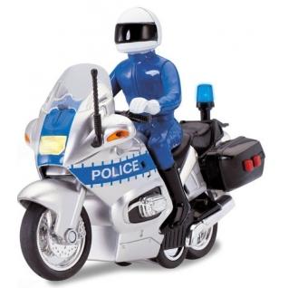 Инерционная модель полицейского мотоцикла Police (свет, звук) Dickie-37708906