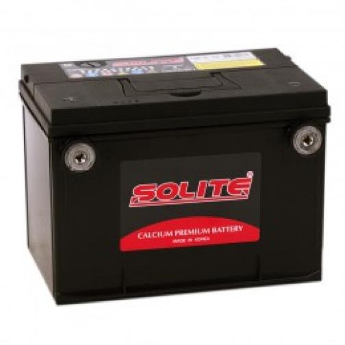 Автомобильный аккумулятор SOLITE SOLITE 75-630 (75L) боковые клеммы 630А прямая полярность 75 А/ч (230x175x186)-6648954