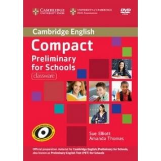 DVD. Compact Preliminary for Schools Cambridge University Press-9193420