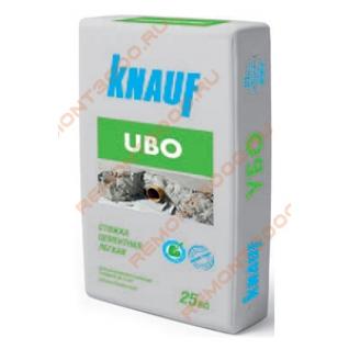 КНАУФ Убо стяжка пола цементная легкая (25кг) / KNAUF Ubo стяжка цементная легкая (25кг) Кнауф-2173205