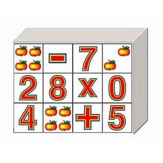 """Традиционные кубики """"Арифметика на кубиках"""" Десятое Королевство-37731605"""