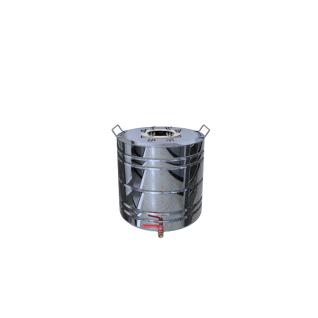 Перегонный куб с ребрами жесткости 35 литров + кран-37658558