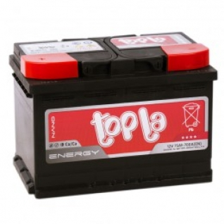 Автомобильный аккумулятор Topla Topla Energy 75L 700А прямая полярность 75 А/ч (278x175x190)