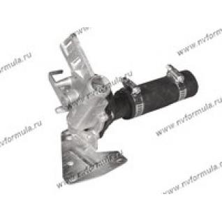 Кран отопителя Волга 3110-8120018-10 с патрубком-428007
