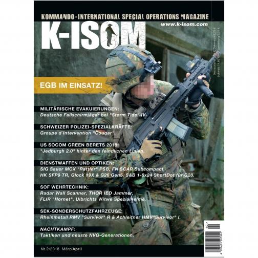 K-ISOM Журнал Kommando K-ISOM выпуск 02-2018-9239639