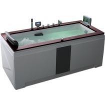 Акриловая ванна Gemy с гидромассажем (G9057-II O)