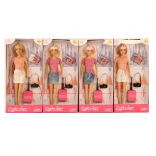 "Кукла ""Путешественница"" с аксессуарами, 29 см Defa Lucy-37708796"