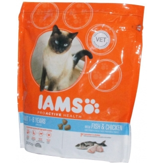 IAMS Iams® ProActive Health™ Adult для кошек с океанической рыбой 300 г