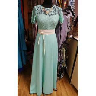 Длинное платье 46 размер-6679640