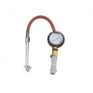 Пистолет для подкачки шин с манометром и наконечником для груз. колес Partner-6003703