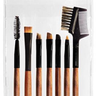 Профессиональные кисти для макияжа - Набор JEANS из 7 кистей для макияжа глаз 7-01-2147090