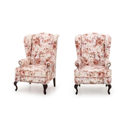 Английское кресло с ушами Fresh Point Nocturne 02 HoReCa-217134