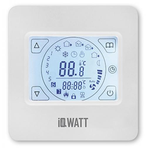 IQWATT IQ THERMOSTAT TS – Программируемый сенсорный терморегулятор-6763749
