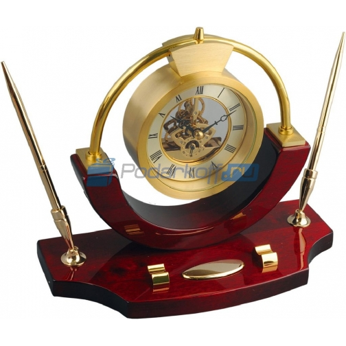 "Письменный набор с часами ""Люксембург""-763527"