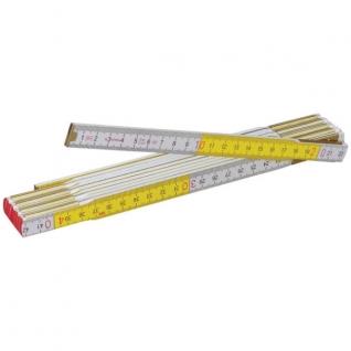 Stabila Метр складной STABILA 617 (2m х 16mm, белый/желтый)